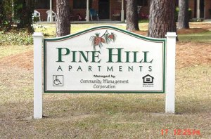 pinehill_sandblasted_hdu_apartment_sign_from_classic_signs_nc