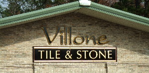 23ktgold custom letters sandblast routed villone hdu business sign classic signs nc 299
