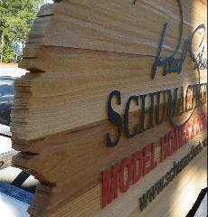 sandblasted cedar natural finish weathered edge zoom schumacher main sign classic signs nc 320x240