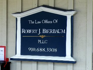 molded attorney sign with removable vinyl graphics classic signs nc 320x240