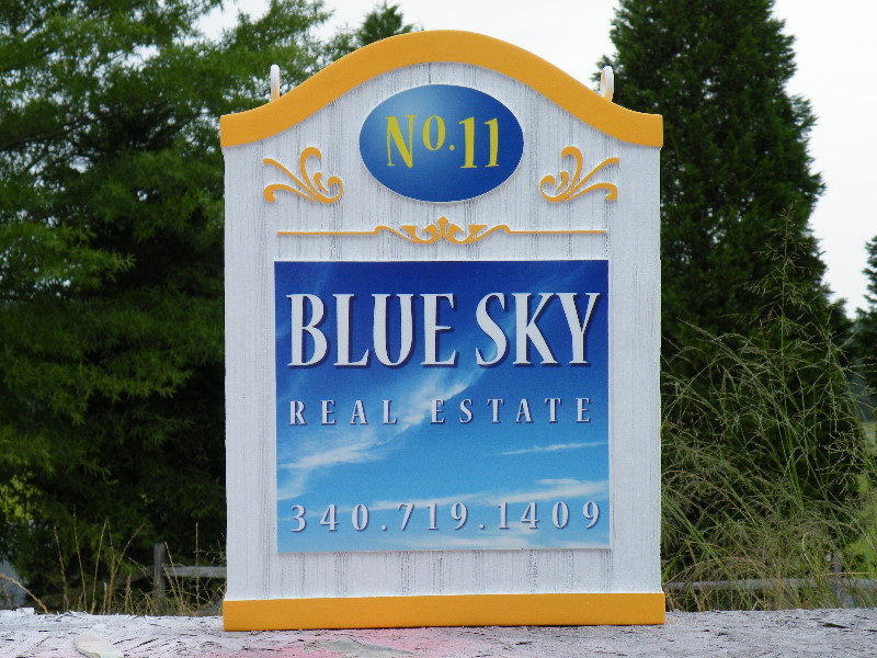 blue sky camargue cast molded sign classic signs nc 800x600