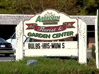 abeerdeen florist sandblasted hdu sign cangeable copy from classic signs nc 320x240