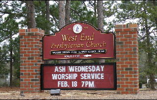 changeable copy and sandblated hdu church sign prismatic gold leaf letters 1 classic signs nc320x240