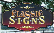 Classic signs nc sandblasted routed prismatic hdu gold leaf varigated metal leaf 600 leds inside 180x109rev2