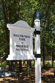 ballybunion park pvc flag community sign classic signs nc 290x000