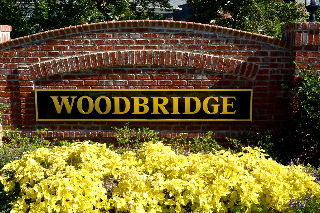 woodbridge community routed hdu sign 23kt gold leaf signblasters com 320x240