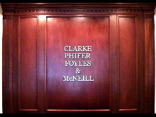 clarke phiffer custom gold interior letters classic signs nc 220x165