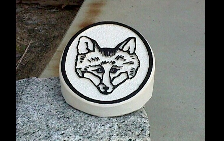 foxfire golf club marker solid molded polyester 9ins spike classic signs nc 758x477