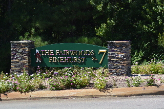 pinehurst fairwoods 7 community entrance 3d sign classic signs nc1280x1024320x240