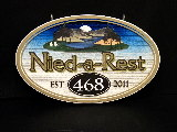 need a rest lakehouse sandblasted sign classic signs nc 160x120JPG