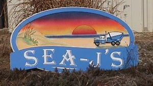 sea js sandblasted beach house home sign from classic signs nc300x169