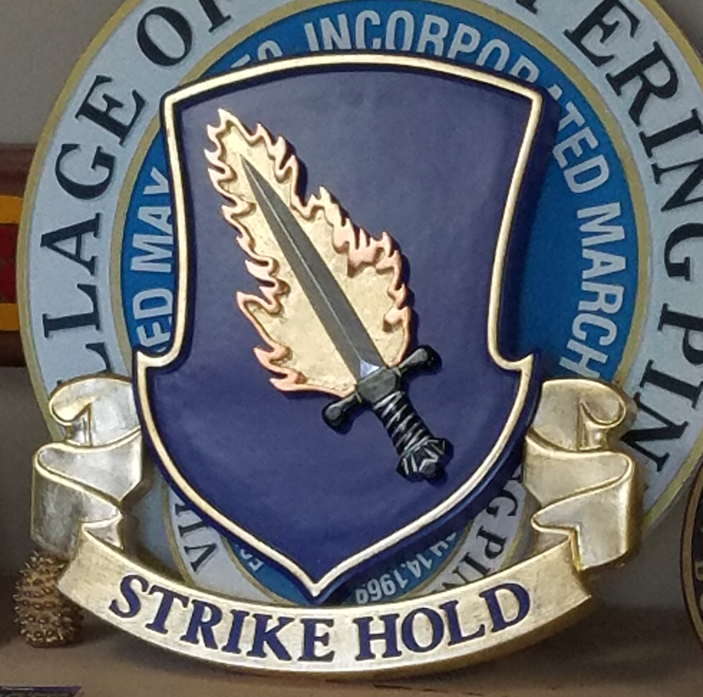 making strike hold insignia 21a classic signs nc
