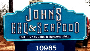 johns bbq sandblasted prismatic paladium letter classic signs nc 300x169