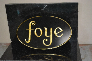 foye old vgroove redwood hs sign restored 320x240