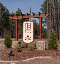 elite homes sandblasted hdu sign with steel skeleton reinforcing classic signs nc 200x213