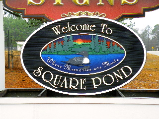 square pond2 community entrance signs 3d hdu 23kt gold leaf classic signs nc1280x1024