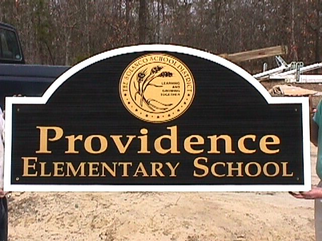 providence elementary school sandblasted hdu classic signs nc 640x480