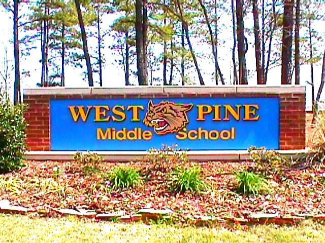 west pine sandblasted cat routed hdu letters from classic signs nc