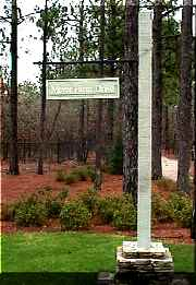 forest creek molded redwood like hanging st sign classic signs nc 180x261