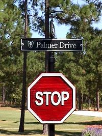 molded stop sign on victorian post classic signs nc 200x267