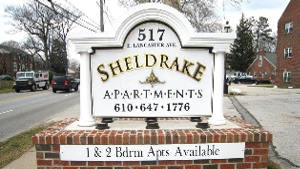 sheldrake apartments PVC hdu custom built monument sign classic signs nc--300x169
